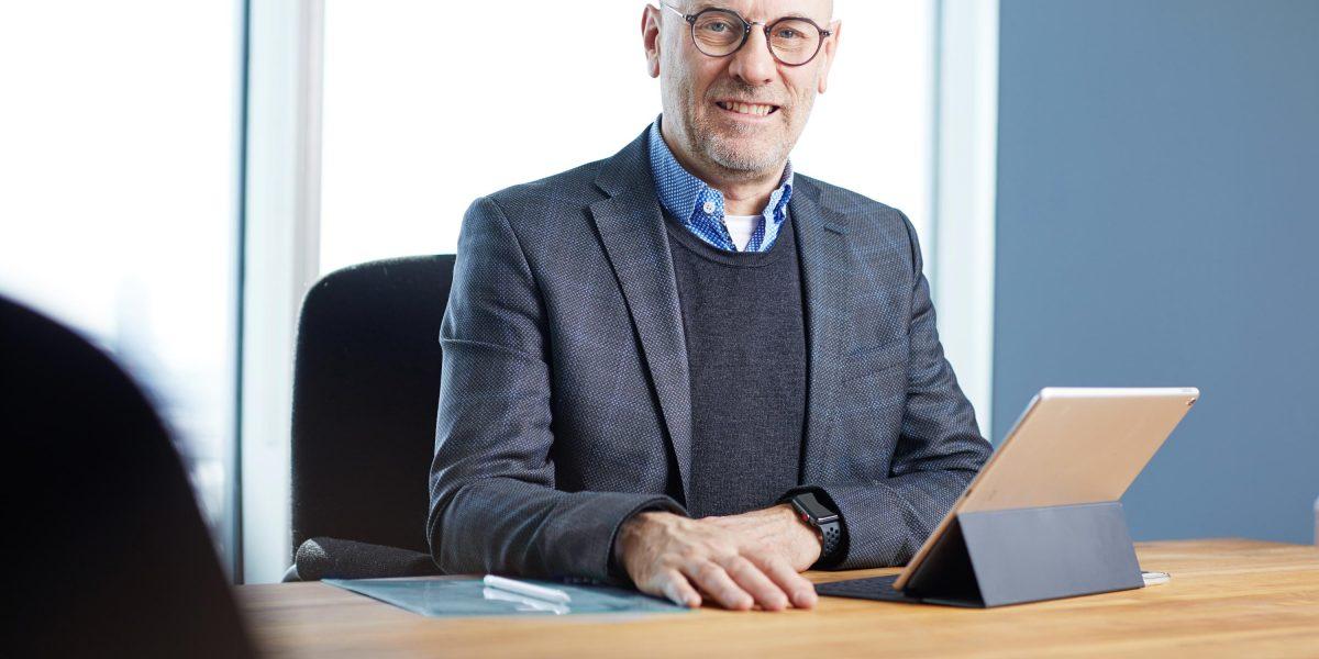 Dr Marc Rivière, président du conseil d'administration de CATALIS