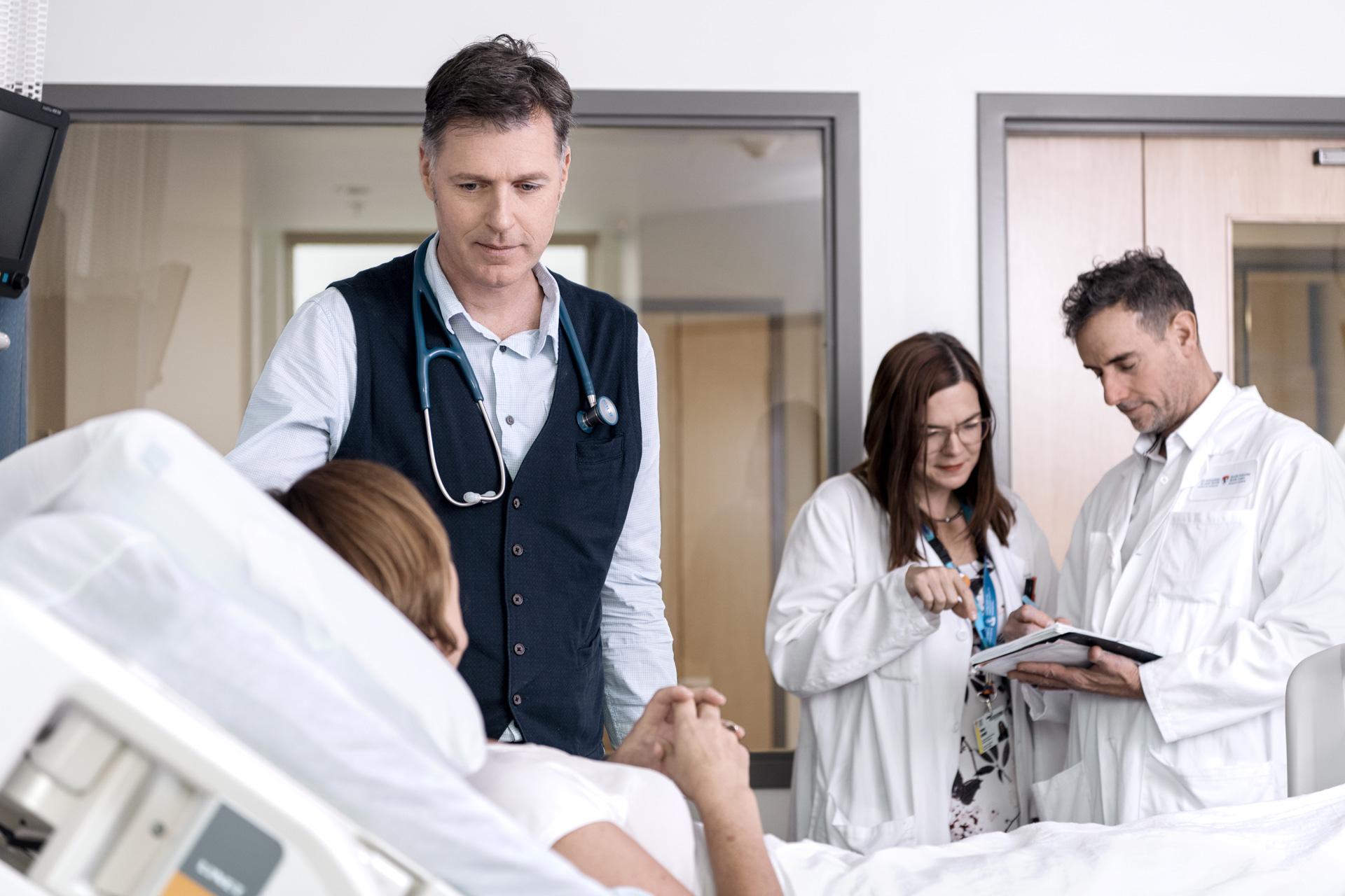 Dr John Mitchell, Endocrinologue pédiatre Institut de recherche du Centre universitaire de santé de Montréal (IR-CUSM)