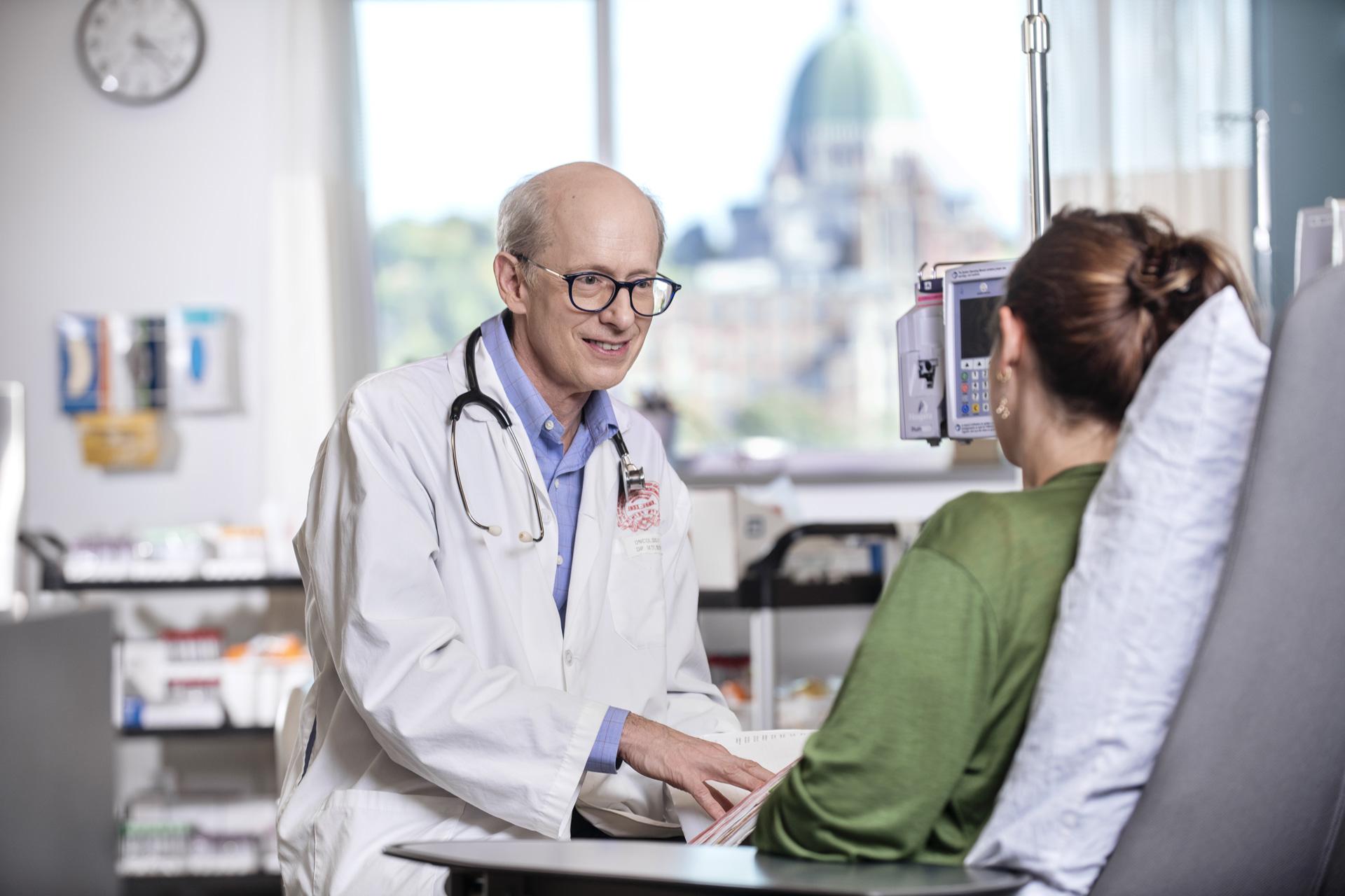 Dr Wilson H. Miller - Directeur de l'Unité de recherche clinique de l'Institut Lady Davis à l'Hôpital général juif de Montréal